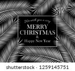 we wish you a very merry... | Shutterstock . vector #1259145751