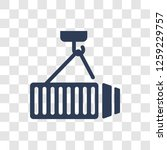 container hanging icon. trendy... | Shutterstock .eps vector #1259229757