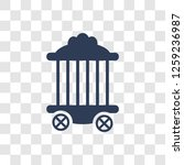 circus cage icon. trendy circus ... | Shutterstock .eps vector #1259236987