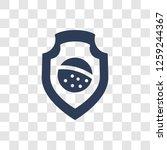 brazil team shield symbol icon. ... | Shutterstock .eps vector #1259244367