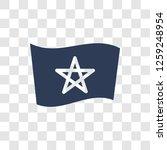 morocco flag icon. trendy... | Shutterstock .eps vector #1259248954