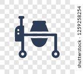 concrete mixer icon. trendy... | Shutterstock .eps vector #1259258254