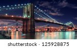 Brooklyn Bridge Over East Rive...