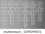 Vector Image Hopscotch