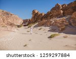 wadi watir  sinai   egypt   may ... | Shutterstock . vector #1259297884