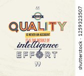 quality quote in modern...   Shutterstock .eps vector #1259323507