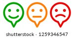 three colored emoticons  set... | Shutterstock .eps vector #1259346547