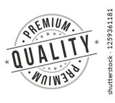 premium quality. quality... | Shutterstock .eps vector #1259361181