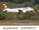 kloten  zurich  switzerland  ... | Shutterstock . vector #1259398774