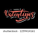 vector illustration. happy... | Shutterstock .eps vector #1259414161