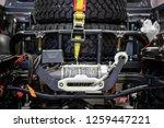 off road car winch | Shutterstock . vector #1259447221