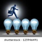 creative bridge business... | Shutterstock . vector #125946491