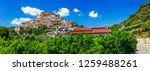 scenic villages of calabria.... | Shutterstock . vector #1259488261