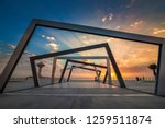 beautiful sunrise view at... | Shutterstock . vector #1259511874