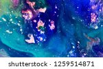 colorful bright paint texture | Shutterstock . vector #1259514871