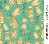 jugs  seamless pattern for... | Shutterstock .eps vector #125952911