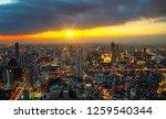 cityscape bangkok downtown...   Shutterstock . vector #1259540344