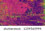 unique design abstract digital... | Shutterstock . vector #1259565994
