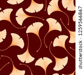seamless floral pattern with... | Shutterstock .eps vector #1259566867