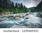 incredible and stormy prut... | Shutterstock . vector #1259605351
