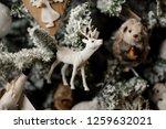beautiful christmas fir tree... | Shutterstock . vector #1259632021