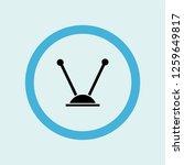 antenna icon symbol. premium... | Shutterstock .eps vector #1259649817
