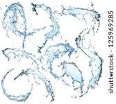 High Resolution Water Splashes...
