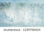 the texture of the ice. the... | Shutterstock . vector #1259700424