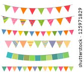 vector illustration of colorful ... | Shutterstock .eps vector #125971829