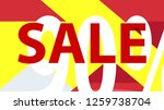 special sale banner or sale... | Shutterstock .eps vector #1259738704