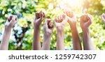 team teamwork  cooperation... | Shutterstock . vector #1259742307