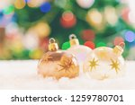 christmas background. happy new ... | Shutterstock . vector #1259780701