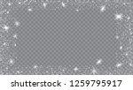 flying snow background. festive ... | Shutterstock .eps vector #1259795917