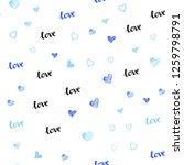 light blue vector seamless...   Shutterstock .eps vector #1259798791