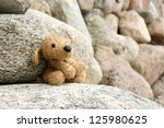 Old Plush Toy Dog Abandoned On...