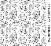 seamless food pattern. hand... | Shutterstock .eps vector #1259854624
