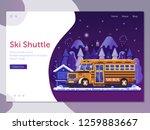 ski resort landing page...