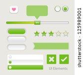 ui web elements  buttons ...