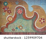 close up view of beautiful... | Shutterstock . vector #1259909704