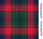 plaid tartan fabric texture... | Shutterstock .eps vector #1259949601