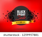 black friday sale abstract... | Shutterstock .eps vector #1259957881
