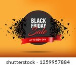 black friday sale abstract... | Shutterstock .eps vector #1259957884
