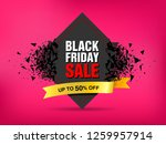black friday sale abstract... | Shutterstock .eps vector #1259957914