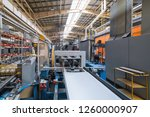roller forming machine. the... | Shutterstock . vector #1260000907