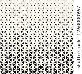 triangle halftone pattern ...   Shutterstock .eps vector #1260000967