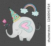 birthday vector illustration...   Shutterstock .eps vector #1260041914
