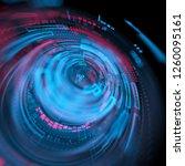 futuristic graphic user... | Shutterstock . vector #1260095161