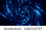 abstract bright creative cosmic ... | Shutterstock . vector #1260110707