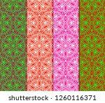 seamless modern pattern. art... | Shutterstock .eps vector #1260116371
