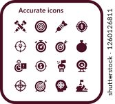 vector icons pack of 16 filled... | Shutterstock .eps vector #1260126811